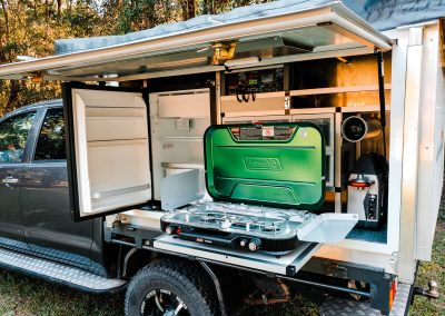 Traymate camper - Camping kitchen