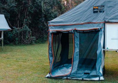 Traymate canopy Camper fully setup