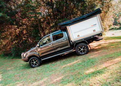 Traymate Aluminium Ute Canopy - Toyota Hilux