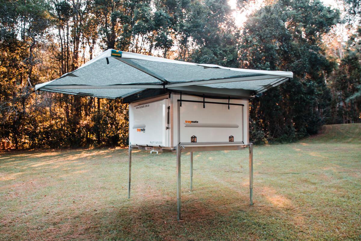 Traymate Campers The Slide On Aluminium Ute Canopy