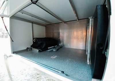 Traymate Aluminium Canopy Camper - Storage Area