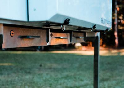 Traymate Slide on Aluminium Canopy Camper - Lockable Underbody Sliding Drawers