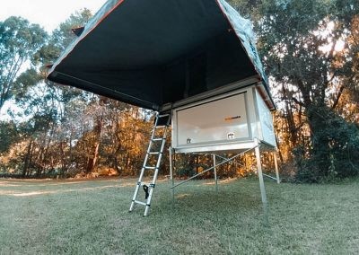Roof top tent annex - traymate canopy camper