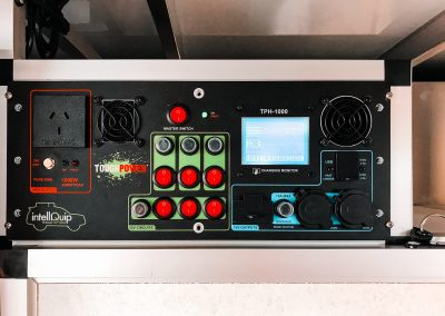 Tough Power Integration Power Management System with USB and Touchscreen - Traymate Camper