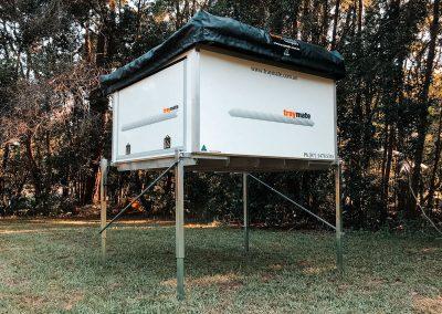 Traymate Base 1 - Slide on Canopy Camper